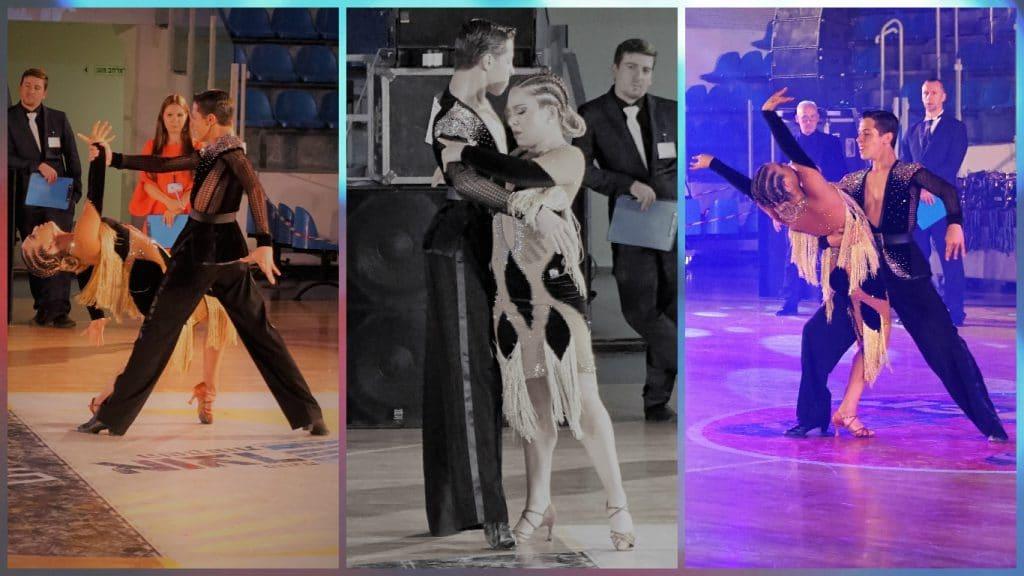בוגרי חוג ריקודים סלוניים ולטיניים לילדים בתחרות ארצית